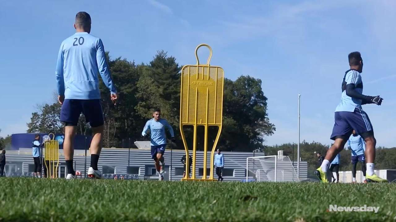 New York City FC coach Domenec Torrent discusses