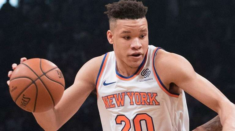 281555d231bc Knicks  Kevin Knox not starting but getting meaningful minutes