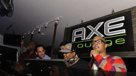 T.I. showed at the AXE Lounge in Southampton