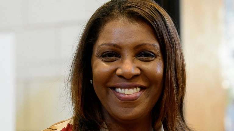 Letitia James, New York City's public advocate, won