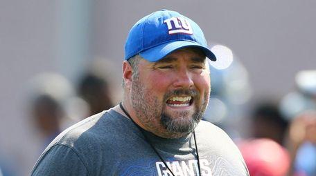 Defensive Coordinator James Bettcher of the New York
