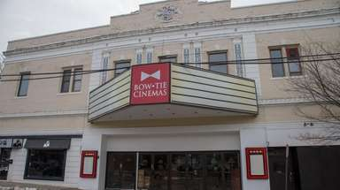 Bow Tie Cinemas in Port Washington, seen on