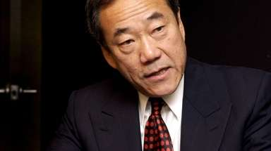Charles Wang, owner of the New York Islanders,