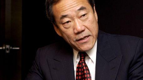 Charles Wang, owner of the New York Islanders,