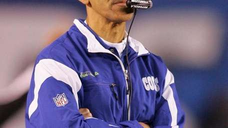 Former Colts head coach Tony Dungy.