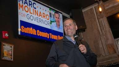 Republican candidate for New York governor Marc Molinaro