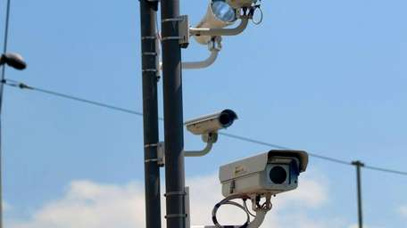 Red-light cameras on Old Country Road and Ring