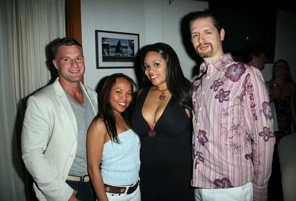 Chris Dunn, Mae Vaigaz, Angelique Monet and PJ