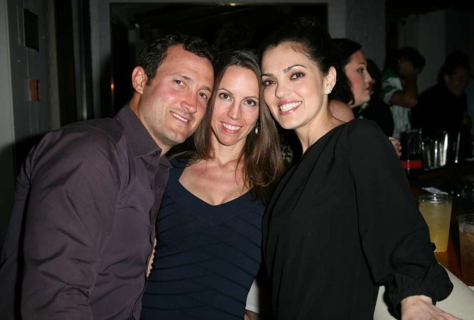 Brian Anderson, Jen Johnson and Sandra Ornelas at