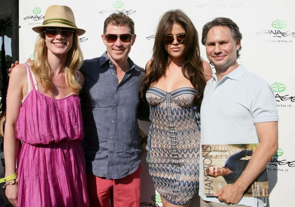 Stephanie March, Bobby Flay, Khloe Kardashian and Jason
