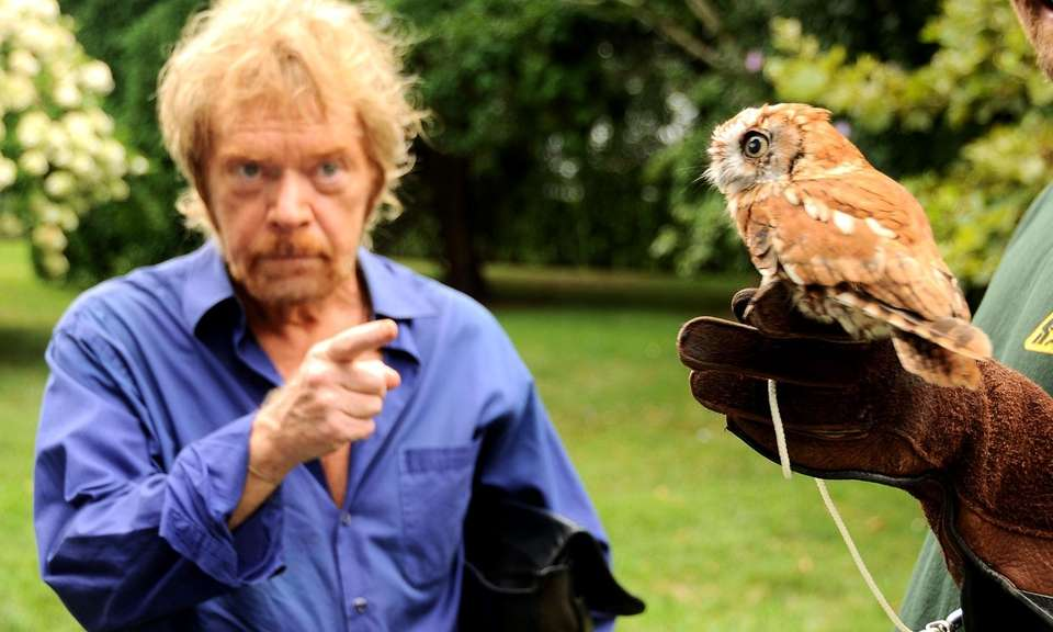 Actor Kevin Conway talks about a rescued screech