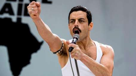 Rami Malek as Queen frontman Freddie Mercury in