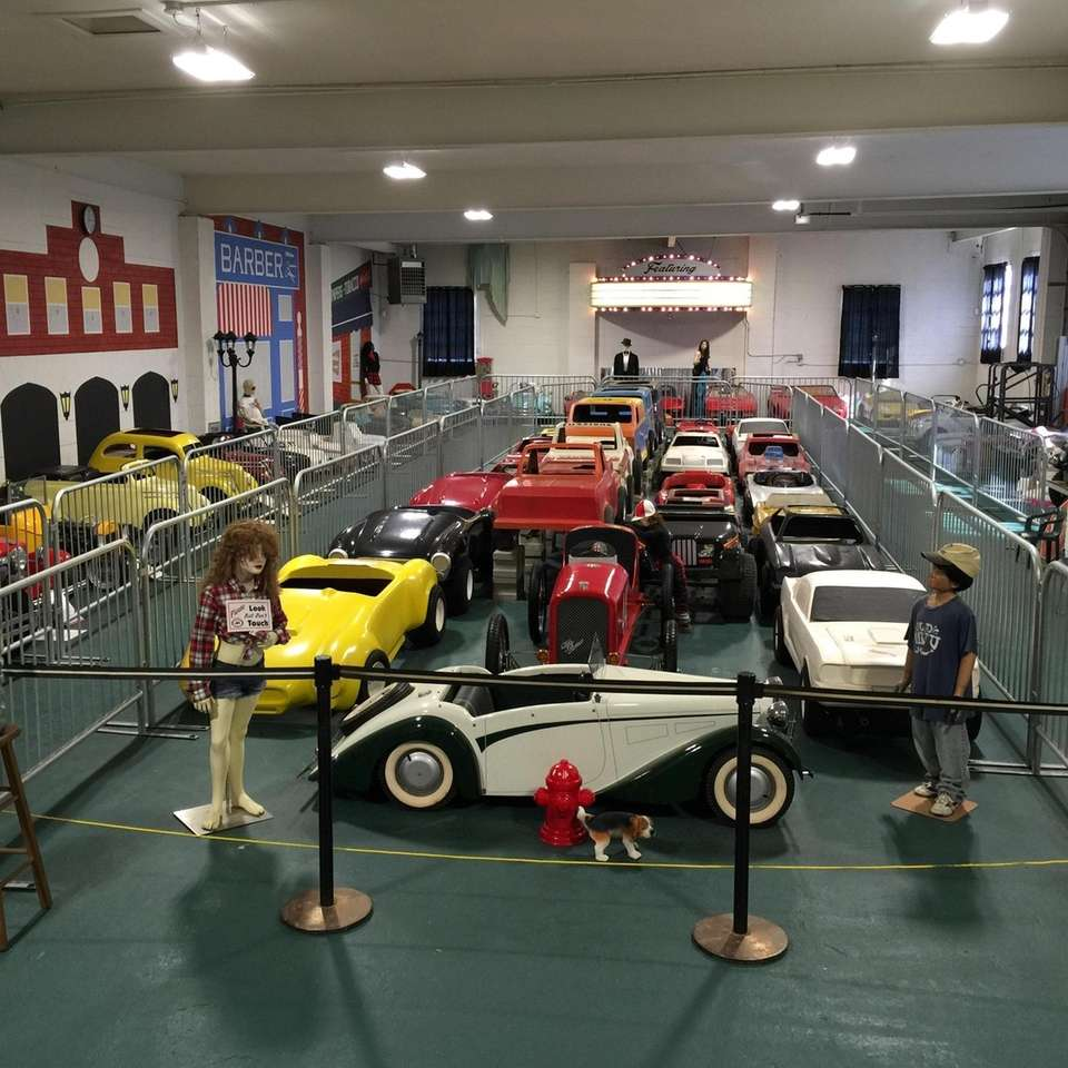 The Mighty Midgets Car Museum in Bellport hosts
