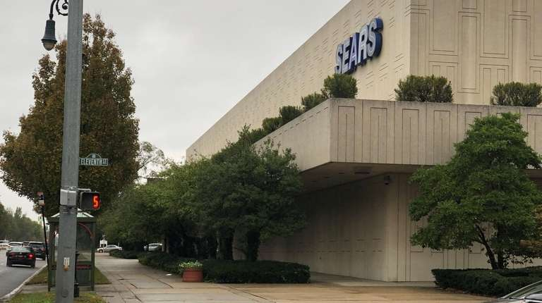 The Sears store at 1111 Franklin Ave. in