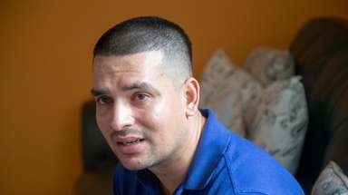 Pablo Villavicencio, seen on July 25 in Hempstead.