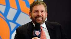James L. Dolan, CEO of the Madison Square