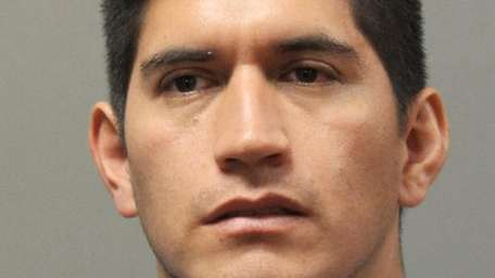 Miguel Orellana, of Port Washington, was charged with