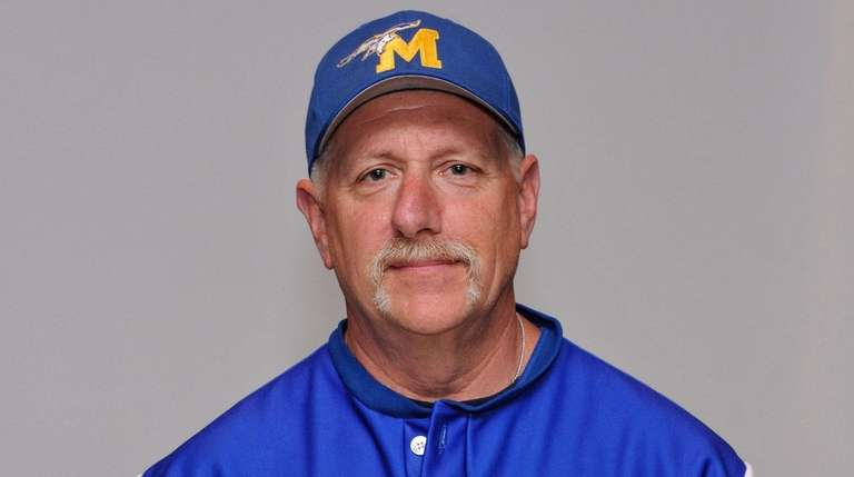Mattituck coach Steve DeCaro poses for a portrait