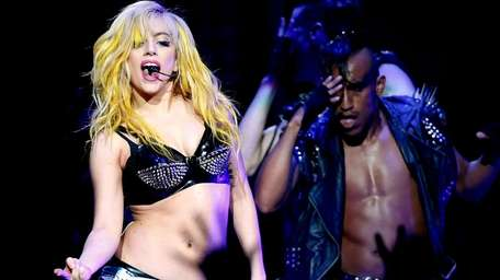 Lady Gaga performs during a stop of The