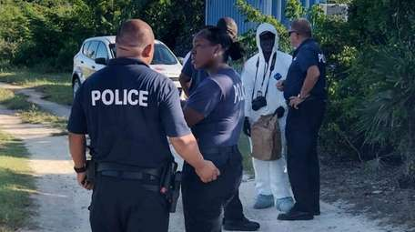 Turks and Caicos police investigate the discovery of