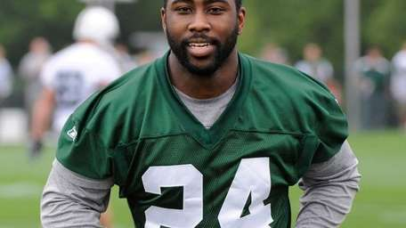 Cornerback Darrelle Revis and the Jets are not
