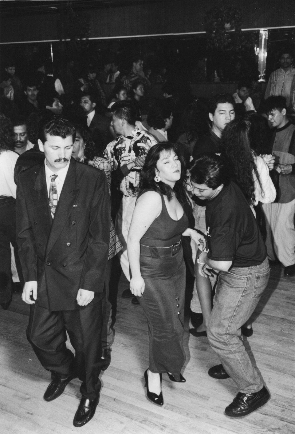 Dancing at El Palacio Latino in Hempstead on