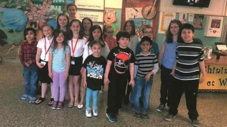 Fourth- and fifth-grade students at Waverly Avenue Elementary