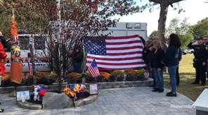 Nassau Police held a memorial prayer service on