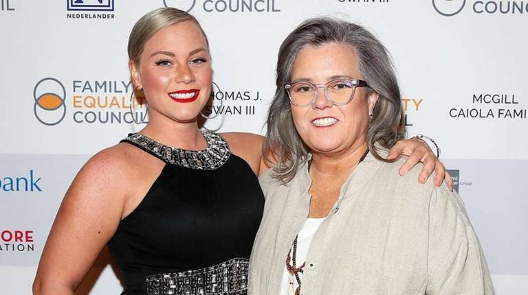Elizabeth Rooney and Rosie O'Donnell attend Family Equality