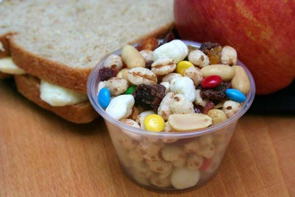 Lunchbox Trail Mix. For Three Simple Healthy Lunchbox