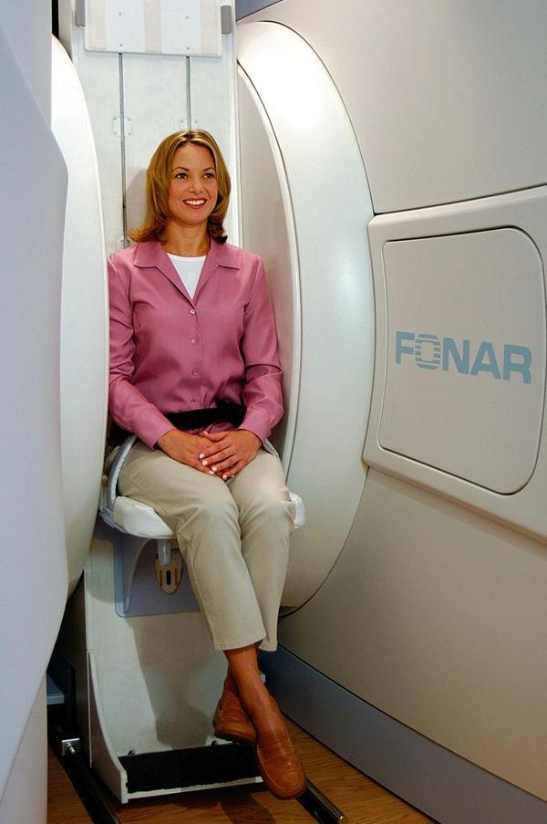 Fonar upright MRI