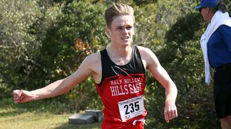 Half Hollow Hills East's R.J. Pleasants takes the
