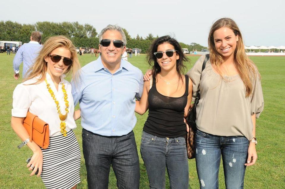 Gia Curatola, left, Dr.Gerry Curatola, Grace Curatola and