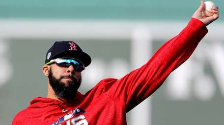 David Price #24 of the Boston Red Sox