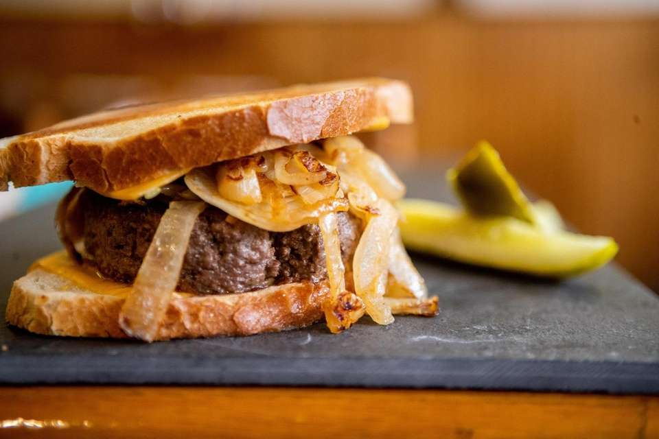 The patty melt at Taby's Burger House in