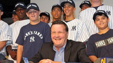 Hank's Yanks, a Long Island-based baseball team funded