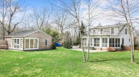 This four-bedroom, three-bath farmhouse is next to almost