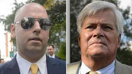 Adam Skelos and father former State Sen. Dean