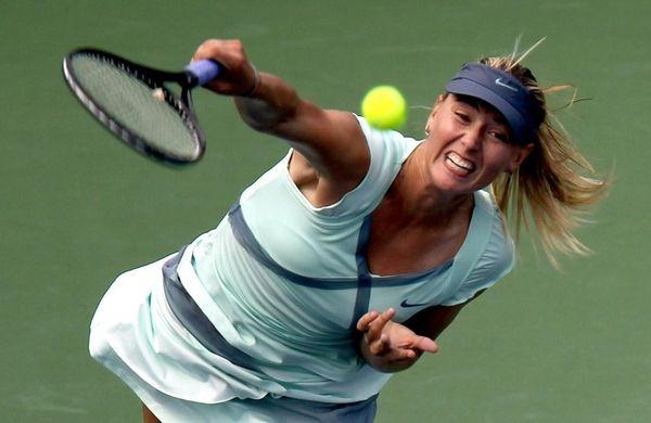 2006 U.S. Open champion Maria Sharapova is one