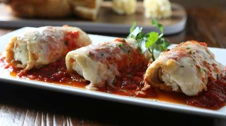 Eggplant rollatine is an excellent, generous version of