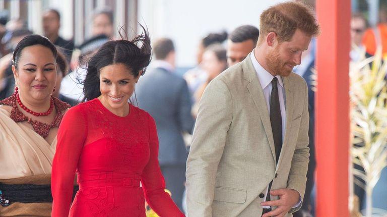 Prince Harry and Meghan, Duke and Duchess