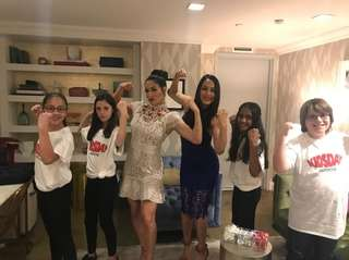 Wrestlers and reality TV stars Nikki Bella and
