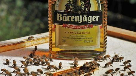 Bärenjäger's  vodka-based  honey liqueur.