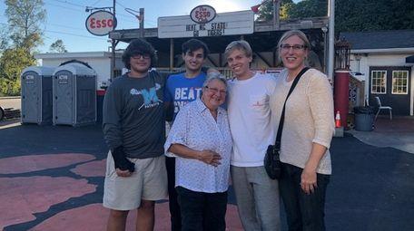 Alaina Kupec family photo. It was taken October