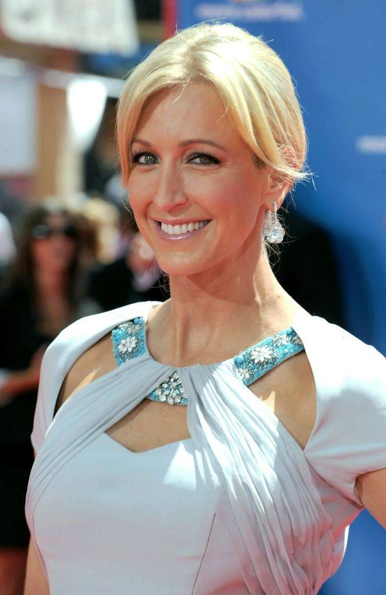 TV personality Lara Spencer arrives at the 62nd