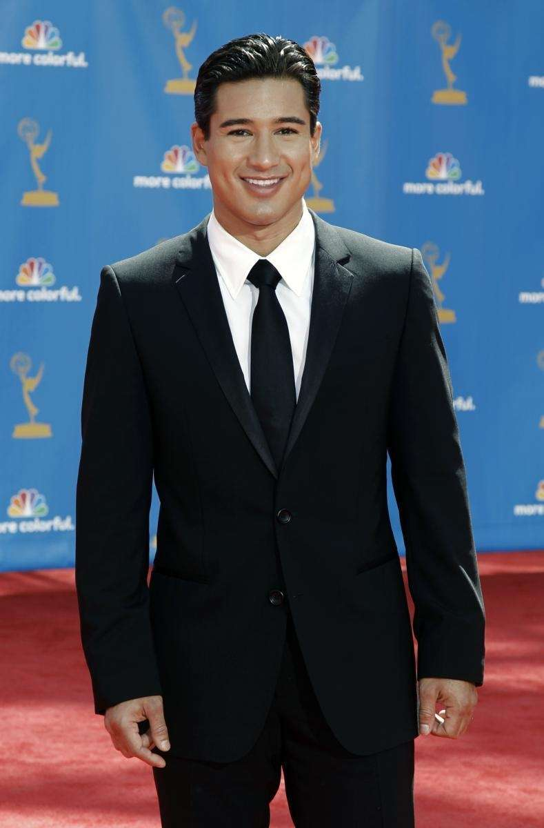 Mario Lopez arrives for the 62nd Primetime Emmy