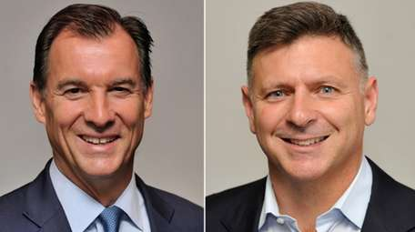 Rep. Thomas Suozzi, the Democratic incumbent, and Daniel