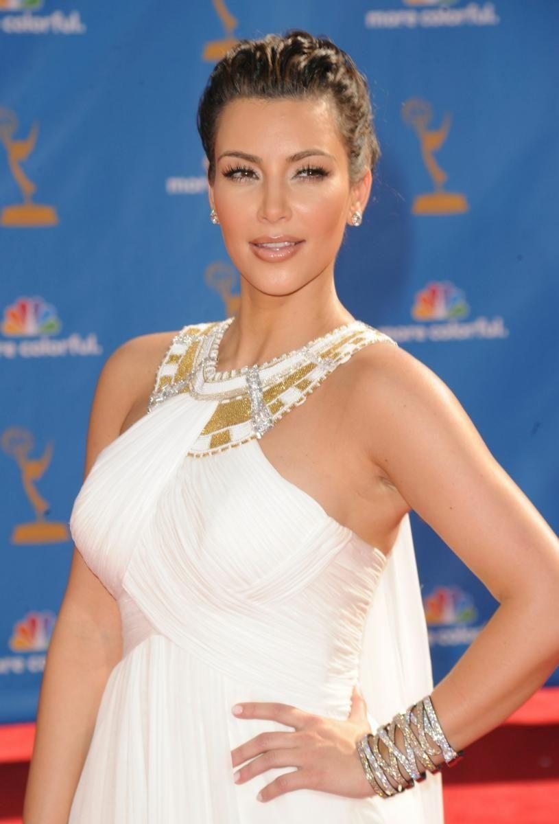 Reality TV star Kim Kardashian arrives at the