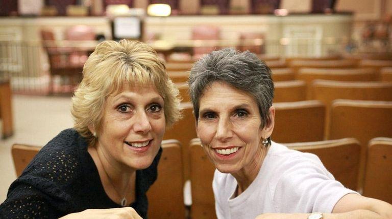 Marietta DiCamillo, left, and her sister Marianna Wohlgemuth