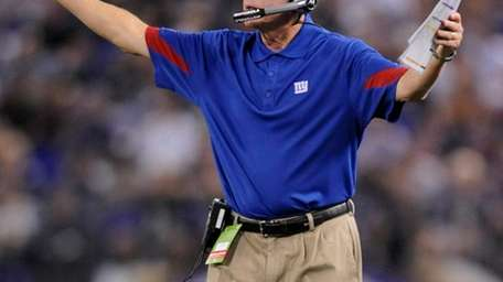 Giants coach Tom Coughlin wants the leaders on